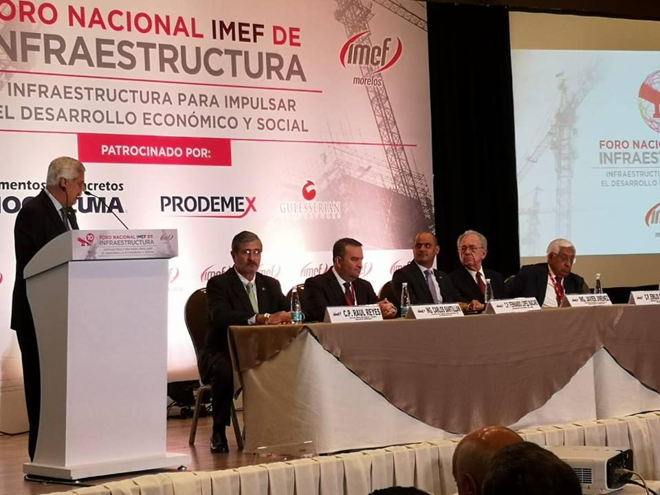 Las 12 propuestas del 10º Foro Nacional IMEF de Infraestructura