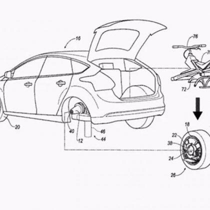 Nueva patente de ford: Auto con Dron integrado