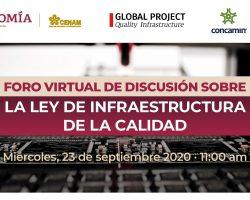Foro Virtual – Ley de Infraestructura de la Calidad