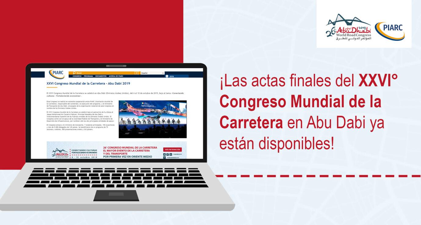 actas finales del XXVIº Congreso Mundial de la Carretera-PIARC